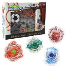 Metal Toupie Fusion Arena Top Beyblade burst 4D Master wit Launcher For Children Boy Christmas finger spiner Fidget spinner Toy