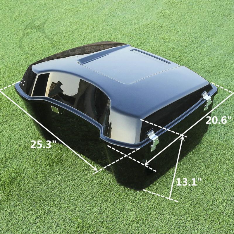 Respaldo de equipaje King Tour Pak para 97-13 para Harley HD Touring - Accesorios y repuestos para motocicletas - foto 4