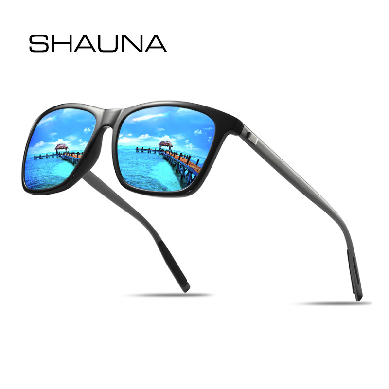 Color : C, Size : OneSize Eyes Retro Style Mens Sunglasses Aluminum and Magnesium Frame Polarized Lens UV Protection Sunglasses for Driving Travelling Outdoor