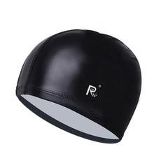 Waterproof swimming cap adult