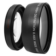 58mm 0.45x Wide Angle Macro Conversion Lens 0.45x 58 For CANON NIKON SONY