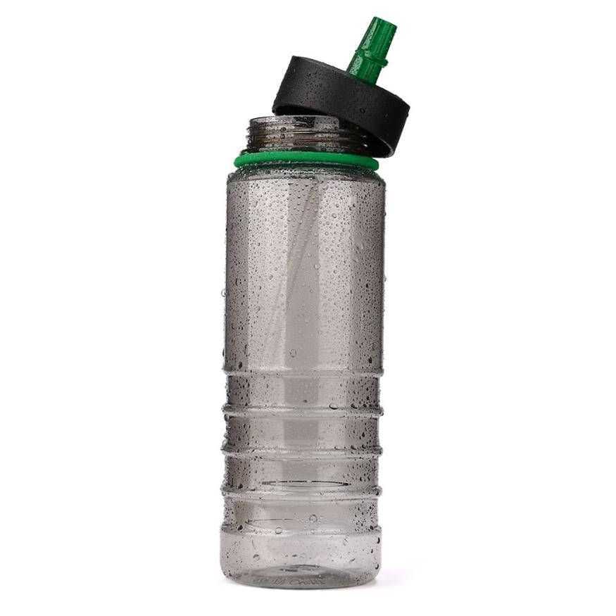 New Hot Sales Flip Straw Tritan Drinks Bottle Sport Hydration Water Bottle For Cycling Hiking Caming Drinking Tools 800ML