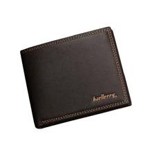 Деловые мужские кошельки, кожаные Маленькие Мужские кредитные клатчи, держатель для карт, кошелек для мужчин, кошелек для монет, Cartera Hombre WB114
