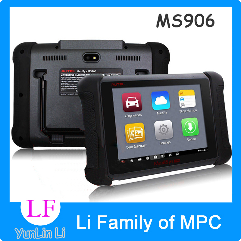 Auto Diagnostic Scanner Autel Maxisys ms906 8 LED Android 4.4.2 Kitkat Next Generation Autel Maxidas Online ms906 Update ...