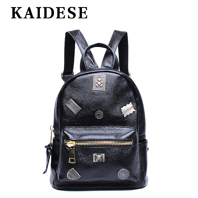 KAIDESE backpack women 2018 new fashion academy wind shoulder bag Youth Travel Backpack