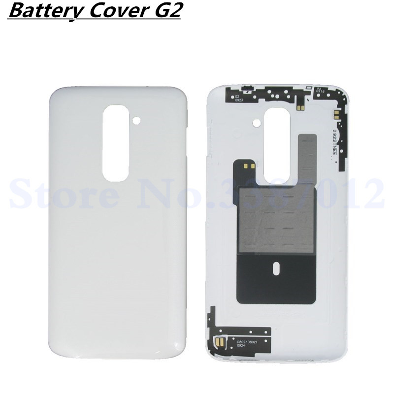 Vecmnoday Original 5.2 inches <font><b>Battery</b></font> Back Cover For LG G2 D800 D801 <font><b>D802</b></font> D805 Back <font><b>Battery</b></font> Housing With NFC Free Shipping