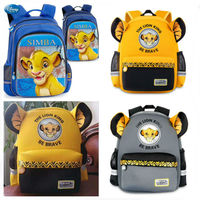 Genuine Disney The Lion King Simba 35 38cm Backpack Kids Boys Girls Cartoon Lion King School cute Bag Children toy Birthday gift