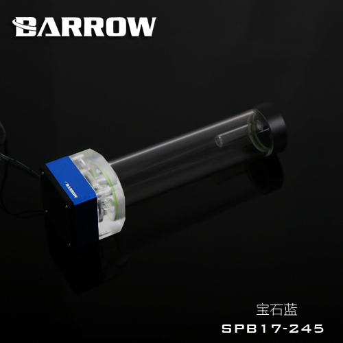 Barrow 12V 17w pump res combo water tank, 4PIN PMW speed control, 245mm reservoir ,3PIN light header ,seller recommend SPB17-245