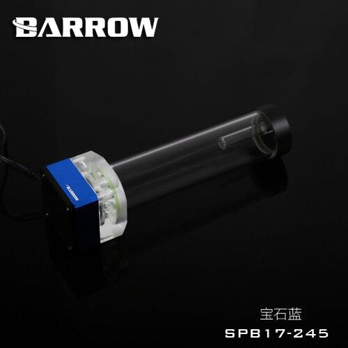Brouette 12 V 17 w pompe combo réservoir d'eau, 4PIN PMW contrôle de vitesse, 245mm réservoir, 3PIN lumière en-tête, vendeur recommander SPB17-245 - 3