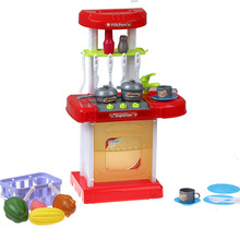 Детский развивающий игровой светильник, музыкальная посуда, экспериментальная игрушка для родителей и детей, игрушка для приготовления пищи на кухне