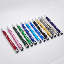 Personalised happy wedding gifts favors/ wholesale promotional products/ laser engraving metal pen with logo N552