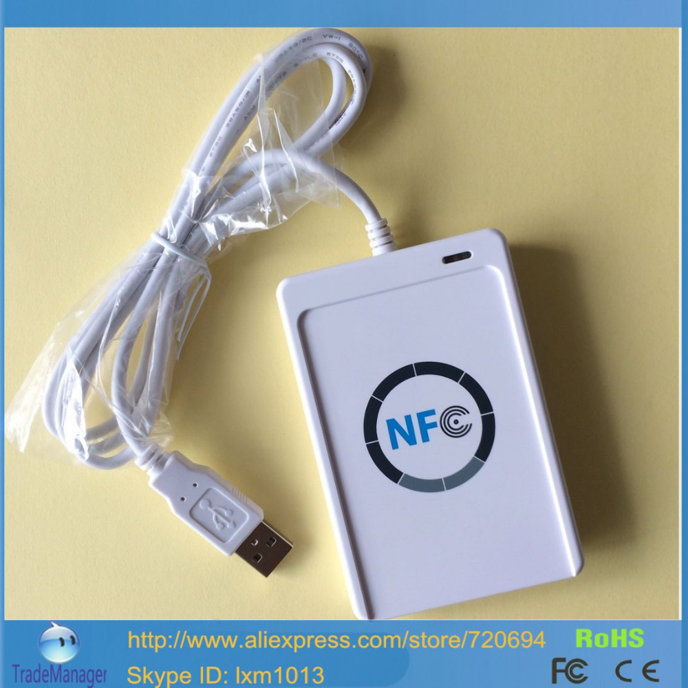 13 56 MHz ACR122U A9 Contactless Smart RFID Reader Writer by