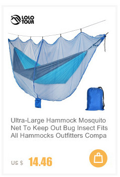 Portable Garden Nylon Hammock Swinghang Mesh Net Sleeping Bed Hamaca Outdoor Travel Camping Hamak Blue Green Red Hamac Camping & Hiking