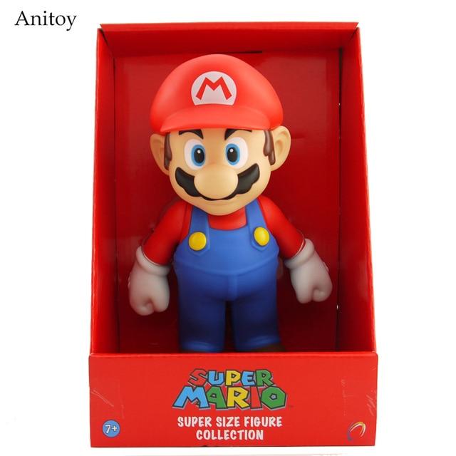 eb2003303d Free Shipping Super Mario Bros Mario PVC Action Figure Collection Toy Doll  9