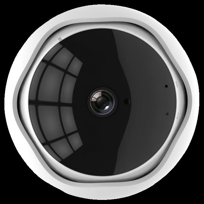 Caméra de vidéosurveillance XM 360 degrés caméra IP 4MP caméra panoramique Wifi caméra de Surveillance vidéo Fisheye