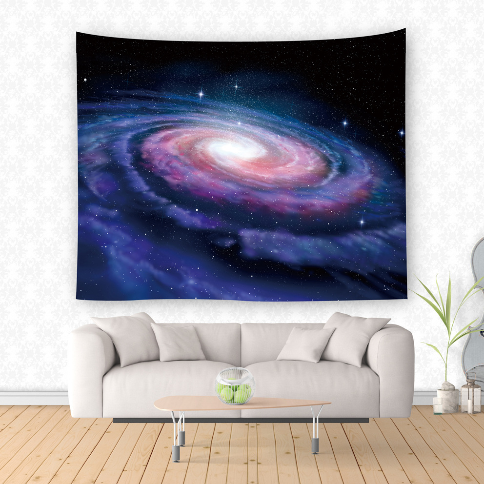 New Wall Hanging Starry Night Tapestries For Living Room Bedroom Beautiful Sky Wall Tapestry Home Decorations 1 piece custom