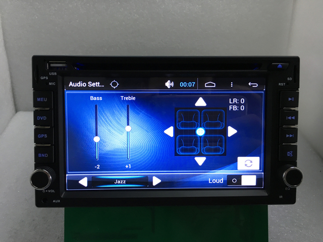 Capacitive Android 6.0 Car DVD 3G Wifi  GPS Navigation 2DIN Car Stereo Radio Car GPS Bluetooth USB/SD Universal Player