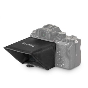 Image 4 - SmallRig A7M3 LCD ekran güneşlik Sony A7 A7II A7III A9 serisi kameralar güneş gölge 2215