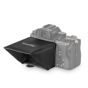 Image 4 - SmallRig A7M3 ekran LCD Sunhood dla Sony A7 A7II A7III A9 serii kamery parasol przeciwsłoneczny 2215