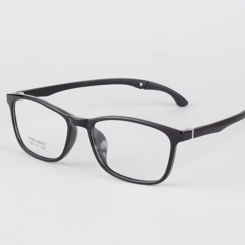10ebb773ff8 BCLEAR Fashion Full Rim TR90 Sports Optical Frame Legs Folding Adjustable Spectacle  Eyeglasses Unisex Eye Frames Myopia Glasses