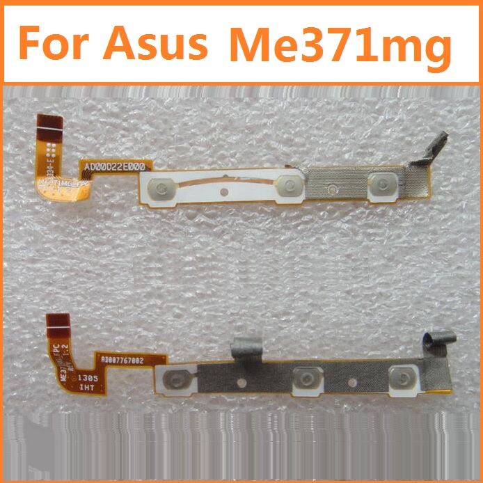 100% original switch on off Power Volume button Flex cable For Asus k004 ME371MG conductive flex with sticker replacement parts
