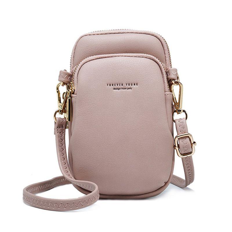 Retro Women Wallet Purse Leather Coin Cell Phone Mini Crossbody Shoulder Bag PouchRetro Women Wallet Purse Leather Coin Cell Phone Mini Crossbody Shoulder Bag Pouch