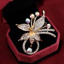 Элегантный Павлин бабочка горный хрусталь брошь булавка пчела Леопард музыкальная нота имитация жемчуга модные броши цветок корона брошь подарок