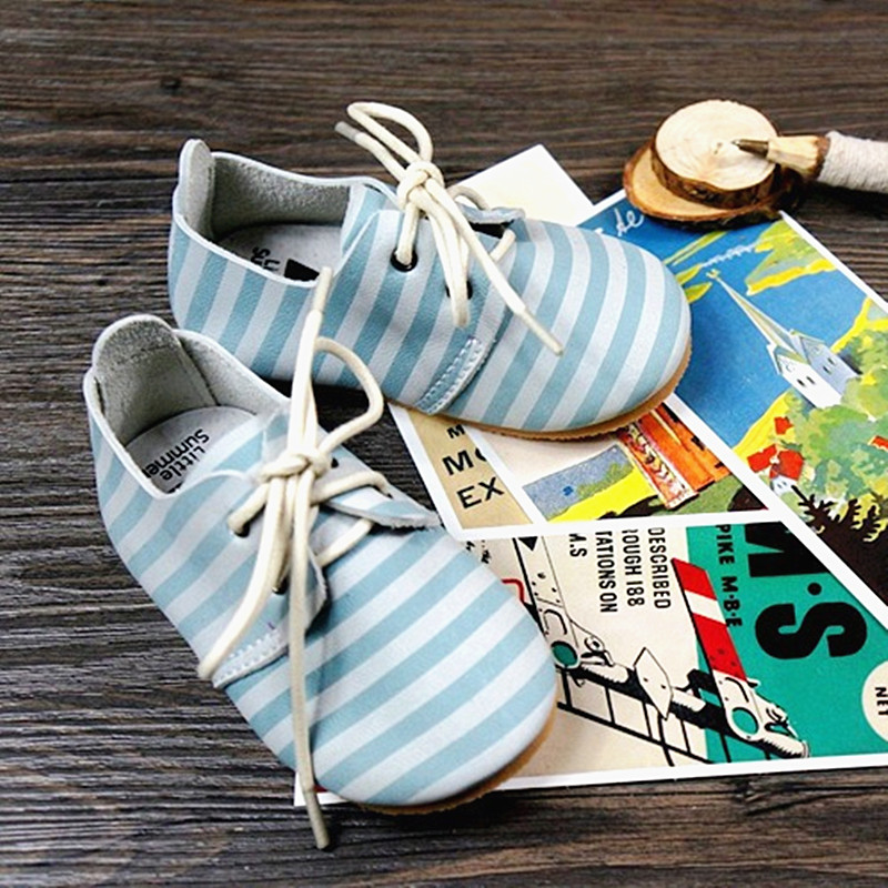 Genuine Leather Baby shoes Lace-up Toddler Baby moccasins Mixed colors Boys shoes First Walkers Free shipping baby moccasins the coral pear classic moccasin genuine leather infant toddler kids