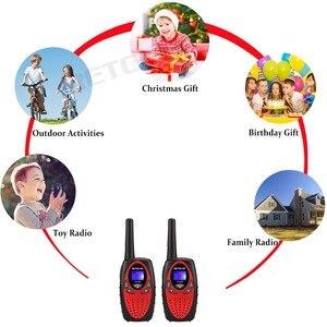 Image 5 - Talkie walkie jouet RT628 2 pièces Mini Radio pour enfants 0.5W PMR PMR446 FRS GMRS 8/22CH VOX enfants 2 voies Radio cadeau de noël