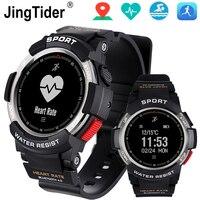 Swimming F6 Smart Watch Bluetooth Sport Wristwatch 0.96 50m Waterproof IP68 Multi Sports Mode Heart Rate Monitor Watch Calorie