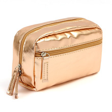Cosmetic bag candy color women sequins high strength waterproof handbag travel small wash