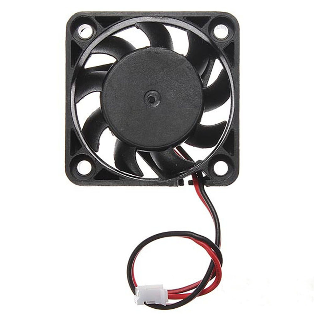 5V 2 Pin 40mm Computer Cooler Small Cooling Fan PC Black F Heat Sink Computer Peripherals Black Promotion