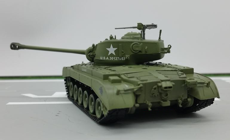 1:72  US M26 Heavy Tank Model  Trumpeter Finished Product 36200  Collection Model