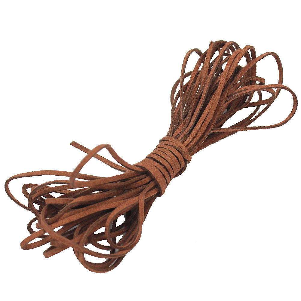 7.8M/Roll Flat Faux Suede Leather Cord String Rope Thread 2mm for Bracelet Necklace Making DIY Jewelry Findings Accessories faux leather rope vintage necklace