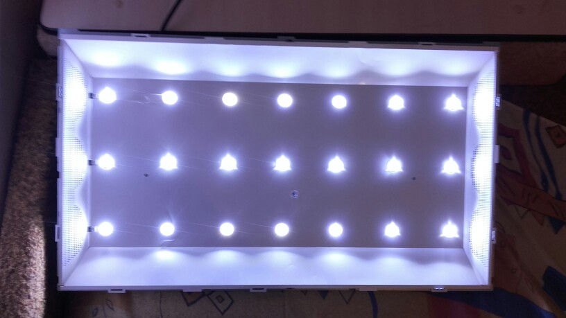 100% Baru 3 PCS / set LED Backlight Strip sempurna kompatibel untuk - Permainan dan aksesoris - Foto 6