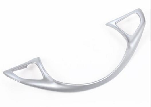 Newest ABS Chrome Steering Wheel Decoration Frame Trim For Mercedes Benz C GLC E Class W213 W205 2016 2017 Car-Styling