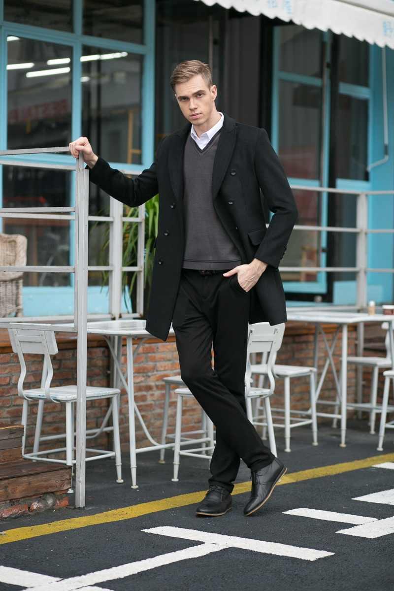 Marke Männer frauen Casual Lange Wolle & Mischung Jacke Männlichen Zweireiher Woolen Mäntel Outwear Windjacke Männer Wolle Jacke Winter