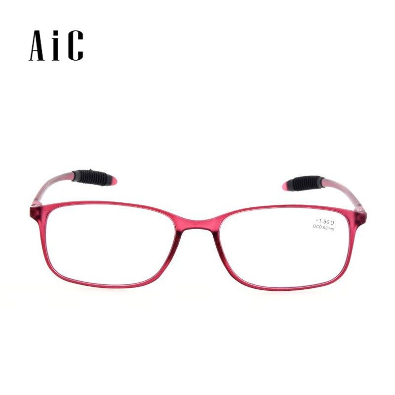 TR259 Hot-sale TR90 divat összecsukható férfi és női műanyag keret vékony olvasószemüveg 1.0 1.5 2.0 2.5