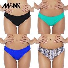 M& M/, сексуальные бразильские женские плавки-бикини, шорты с принтом микро-шифона, Раздельный купальник из двух частей, купальный костюм, B607