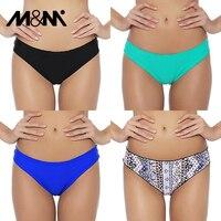 M & M/2019, сексуальные бразильские женские плавки-бикини, шорты с принтом микро-шифона, Раздельный купальник из двух частей, купальный костюм, ...