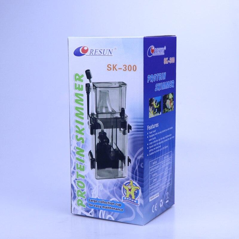 3.5 W Aquarium réservoir de poisson accrocher écrémeur de protéines de haute qualité corail réservoir de poisson séparateur de protéines Aquarium filtre écumeur accessoires - 3