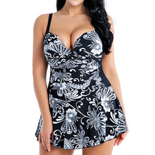 2021 Push Up Swimwear One Piece Large Size Swimsuit Female Floral Bathing Suit Female Beach Dress Plus Size 4XL 6XL 8XL