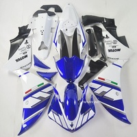 ABS 100% fairings For YAMAHA R1 2009 2010 2011 Fairings white blue YZFR 1 09 10 11 Injection Fairing MOTO