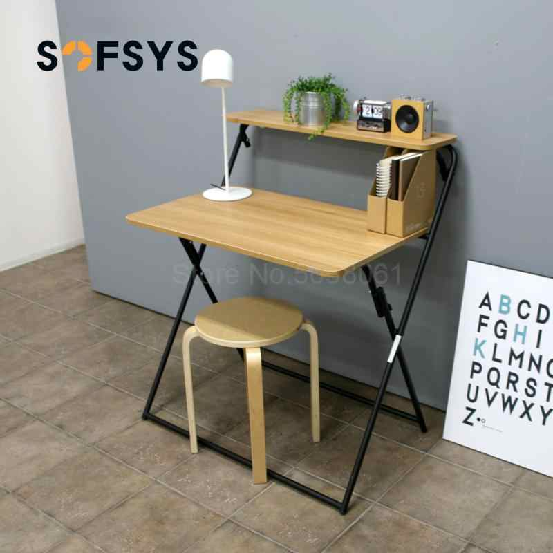 Folding Table Portable Simple Office Desk Home Learning Desk Small Table Folding Computer Table Laptop Desks Aliexpress