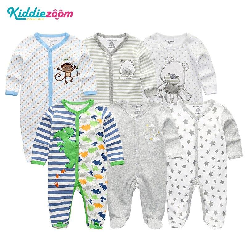 Pasgeboren baby meisje / jongens rompertjes kleding zomer jumpsuits - Babykleding - Foto 1