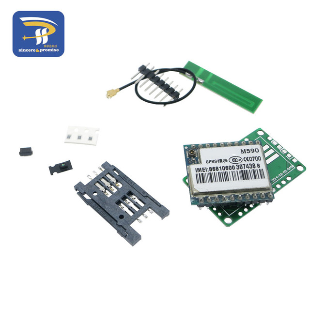 DIY KIT GSM GPRS M590 gsm модуль Служба коротких сообщений SMS модуль для проект для дистанционного зондирования сигнализации