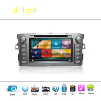 Car DVD Player System For Toyota Auris Autoradio Car Radio Stereo GPS Navigation Multimedia Audio Video