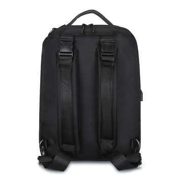 Business Anti Theft Backpack Men Smart Laptop Bagpack USB Charger Male Shoulder Bag 15.6 Inch Notebook Pack Pack Men\'s Black Bag
