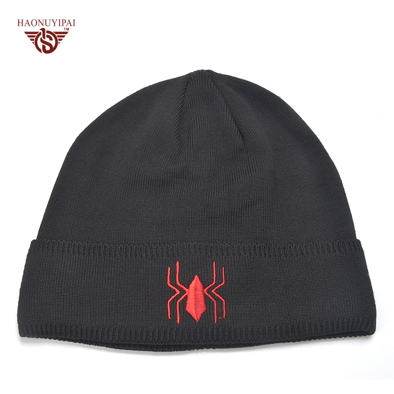 Freestyle Skiing Mens Beanie Cap Skull Cap Winter Warm Knitting Hats.
