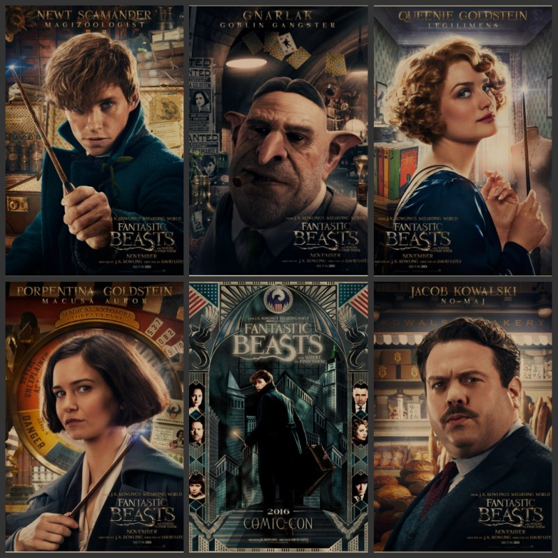 Fantastic Beasts And Where Harry Potter Movie Posters Around Retro  Nostalgia Posters Bar In The Bedroom Adornment Wall Stickers In Wall  Stickers From Home ...